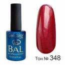 BAL Гель-лак каучуковый 348 Аргентинское танго, 11мл