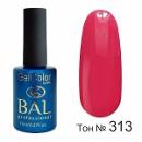 BAL Гель-лак каучуковый 313 Коралловый, 11мл