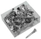 SIBEL Зажимы металлические маленькие, 45мм, 100шт