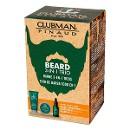 Clubman Подарочный набор для мужчин Beard 3 in1 Trio, 3 предмета