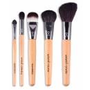 QVS Профессиональный набор кистей для макияжа 5 шт.