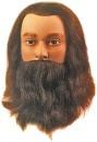 Голова учебная LEIF с усами и бородой со 100%
