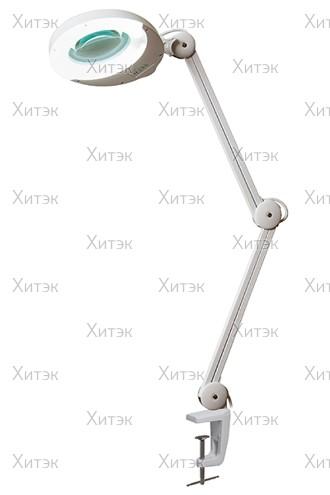 Лампа-лупа на кронштейне (8 диоптрий), 22Вт