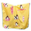 Пеньюар harizma детский Пингвины 100х75см желтый