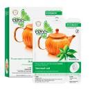 """Маска """"Зеленый чай"""" для лица и шеи, противокуперозная"""