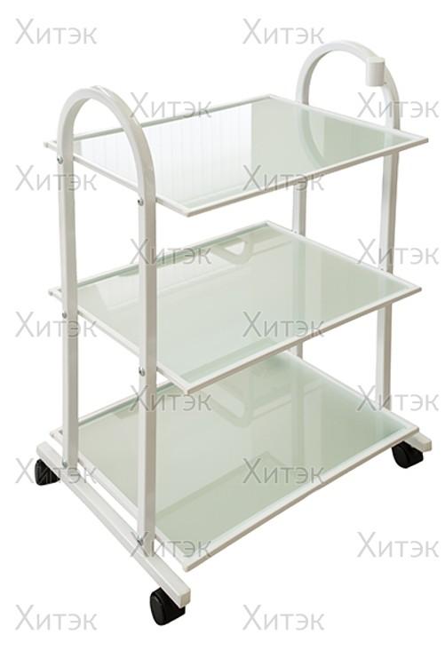 Столик косметолога СП мини стекло