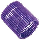 EUROSTIL Бигуди пластиковые, фиолетовые, 5 штук в упаковке