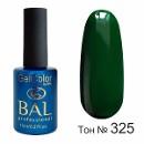 BAL Гель-лак каучуковый 325 Малахитовая шкатулка, 11мл