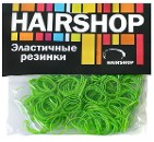 Резинки силиконовые, зеленые