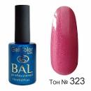 BAL Гель-лак каучуковый 323 Розовое Вино, 11мл