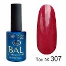 BAL Гель-лак каучуковый 307 Малиновое Озеро, 11мл