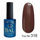 BAL Гель-лак каучуковый 318 Кофейная дымка, 11мл