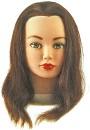 Тренировочный макет CATHY с натуральными волосами 100%