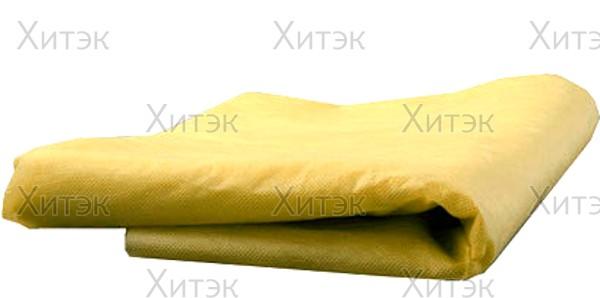 Простыня одноразовая. White line 80*200 SMS20 желтый №10 пачка