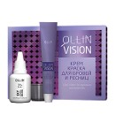 Ollin Vision Крем-краска для бровей и ресниц 20мл черная набор