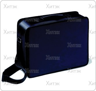Сумка для парикмахерских инструментов черная на молнии 37х28,5х11,5 см с...