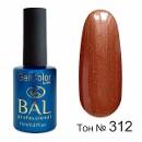 BAL Гель-лак каучуковый 312 Шоколадный, 11мл