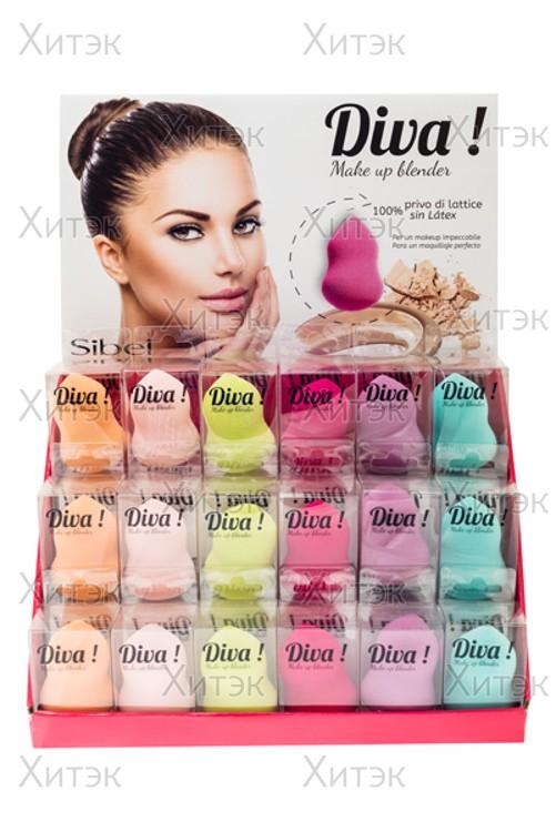 Каплеобразный спонж для макияжа