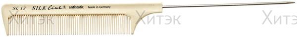HERCULES Расчёска силиконовая с металлическим хвостом