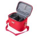 Кейс для парикмахерских инструментов 23х15х18см красный