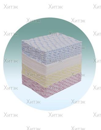 Полотенце малое White line 35*70 пачка, желтое, 50 шт.
