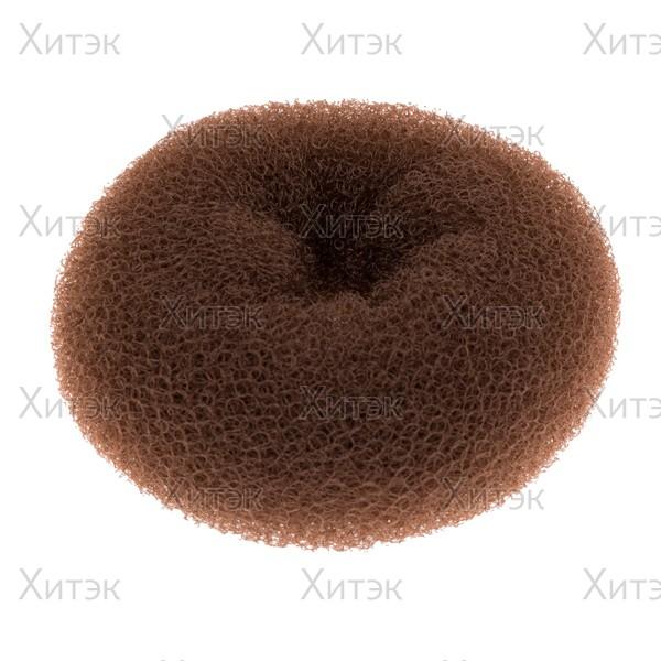 Подкладка-кольцо для волос средняя шатен 11,5см