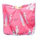Пеньюар harizma детский Веселый цирюльник 100х75см розовый