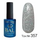 BAL Гель-лак каучуковый 357 Ледяная россыпь, 11мл