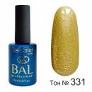 BAL Гель-лак каучуковый 331 Золото скифов, 11мл